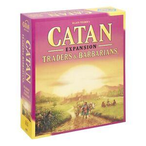 Catan Expansion: Traders & Barbarians Board Game