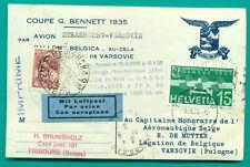 1935 GORDON BENNETT BELGIEN - POLEN - BALLON BALLOON BELGICA - RUSSIA AIR