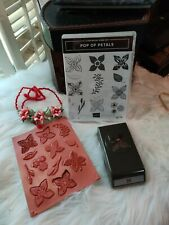 Stampin' Up! - Pop of Petals Stamps & 4 Pedal Flower Punch