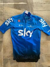 Team Sky Team Issued Castelli Mid Weight Short sleeve Jersey Small Thomas Froome