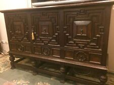 Antique English Oak Sideboard Top 3 Door 3 Draw Circa 1890 Value $3900 MUST SELL