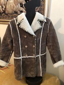 vintage 1980s women Jacket Fleecy Lined VGC Small/Medium
