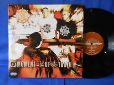 GANG STARR MOMENT OF TRUTH 3LP ORIG USA SUPERB EXC+