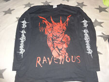 God Dethroned Ravenous LS-Shirt XL Official from 2001 Death Metal Asphyx Thantos