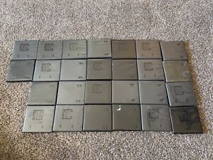 Lot of 26 Black Nintendo DS Empty Replacement Video Game Cartridge Cases Boxes