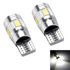 10x T10 194 W5W 5630 LED 6SMD voiture híd Bus CAN sans faille