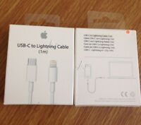 Genuine Apple USB C- To Lightning Sync Charger Cable (1m)-NEW MQGJ2ZM/A (NO BOX)