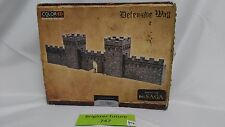 *NEW* Plast Craft SA04 ColorED SAGA Defensive Wall Castle Fortification Terrain
