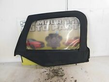97 98 99 00 01 02 03 04 05 06 JEEP WRANGLER Drivers Half Door Window Panel BLACK