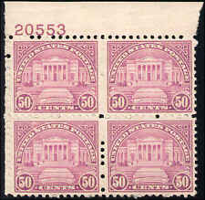 1931 US Stamp #701 A173 50c Mint NH Plate Block of 4 Catalogue Value $230