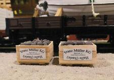 Spur G 2 Kartoffel-Kisten, Kartoffeln, Ladegut, Gemüse, passt zu LGB, G-Scale