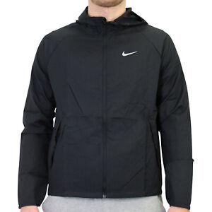 Nike Essential Jacke Regenjacke Herren Schwarz CU5358 010