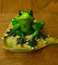 "FROG resin Figurine from GSC, #61164 FROG, NEW/Box From Retail Store, 3"" x 5"""