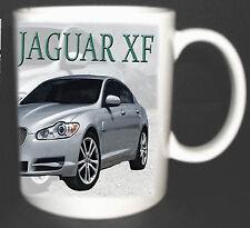 JAGUAR XF CLASSIC CAR MUG LIMITED EDITION GREAT GIFT LUXURY SPORTS CAR