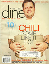 Indianapolis Dine Magazine Issue No 1/2009 Randy Hull Scotty's Brewhouse VGC