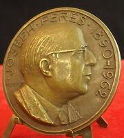 Medal Joseph Pérès University de Paris Aix Marseille by Douglas Medal 铜牌