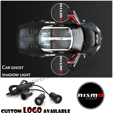 2x Courtesy Car Led door Projector ghost shadow light For Nismo Logo Japan Cars