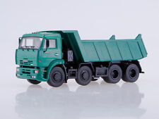 KAMAZ 6540 dump truck green Dealer model Kamaz AutoHistory 101616 1:43