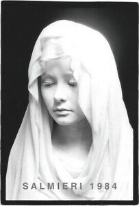 ICONIC PHOTOGRAPHIC PORTRAIT 8X10 B/W VINTAGE GELATIN DKRM PRINT SIGNED 1984