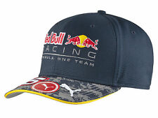 AUTHENTIC PUMA RED BULL RACING F1 TEAM DANIL KVYAT 2016 DRIVER CAP 053030 01
