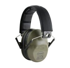 NEW 2018 EARMUFFS HEARING NOISE REDUCTION PROTECTION SHOOTING DRAB OLIVE GREEN