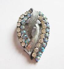 Crystal Glass Vintage Costume Jewellery (1950s)