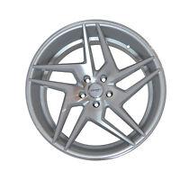 4 GWG Wheels 20 inch Silver RAZOR Rims 20x10.5 fits FORD SHELBY GT 500 2007-2017