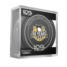 2017 NHL Pittsburgh Penguins Stanley Cup Playoffs Official Game Hockey Puck