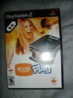 Eye Toy Play Sony PlayStation 2 Video Game Complete PS2 Sony