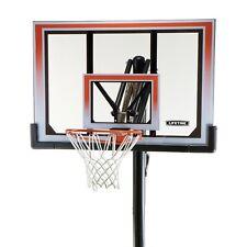 In Ground Basketball Hoop 50 Shatterproof One Hand Adjust System Backboard