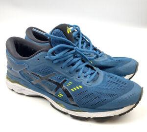 Asics Gel-Kayano 24 T749N Athletic Running Shoes Mens Size 11 Blue Sneake