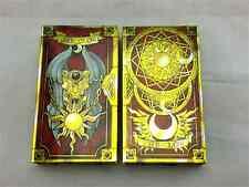 56 Pcs / Set Cosplay Anime Cardcaptor Sakura Clow Card + Clow Book Set