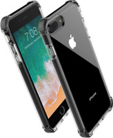 iPhone 7 8 Plus Clear Case Shockproof Cover Protective Transparent Bumper TPU US