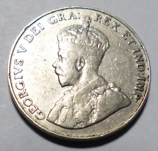 Coin - 1934 Canada 5 Cents - 5C