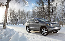"""2012 JEEP GRAND CHEROKEE A2 CANVAS PRINT POSTER FRAMED 23.4""""x15.4"""""""