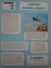 9/1974 PUB SPERRY AVIONICS REPORT 3 PQM-102 DRONE F-102 DC-9 ORIGINAL AD