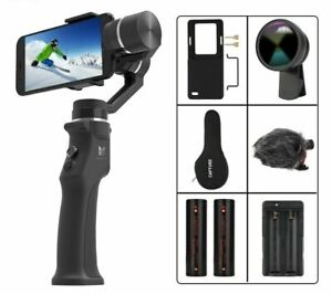 Capture 3 Axis Handheld Gimbal Stabilizer For Smartphone Iphone Gopro Action