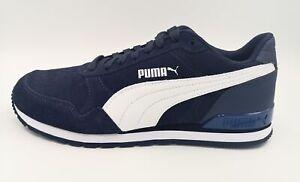 PUMA 365279 10 ST Runner v2 SD blau weiß Retro Sneaker Sportschuh Classic Leder