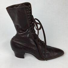 Victorian Edwardian High Top ONE RIGHT Shoe Boot Utz & Dunn Decor