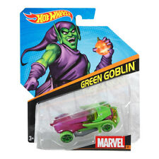 Hot Wheels Marvel Character Cars 1:64 Scale Die-Cast Vehicles (Pick a Character)