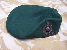 Royal Marines Commando/SBS Famous Green Beret+Bronze Colour Metal Cap Badge 56cm