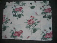 ***STANDARD SIZE***SET OF 4***PILLOW CASES***FLANNEL***PINK ROSES***FLORAL