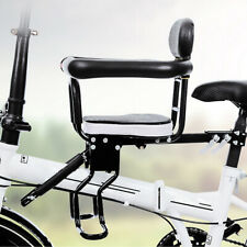 New Bicycle Child Seat with Foot Pedal Bike Front Safety Baby Chair