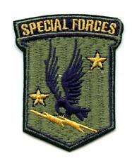 Aufnäher Fallschirmjäger Airborne US Army Special Forces Patch Air Force Eagle