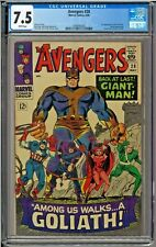 Avengers #28 CGC 7.5 White 1st app the Collector Giant Man Goliath Jack Kirby