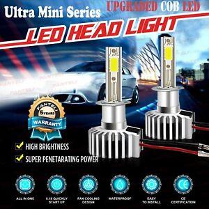 2450W 367500LM H1 Mini CREE LED Conversion Headlight Kit 6000K HID White Bulbs
