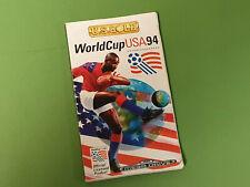 Sega Mega Drive Instruction Manual - World Cup USA 94 *No Game*