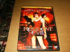 Resident Evil Special Edition DVD,Used,Plays Fine.