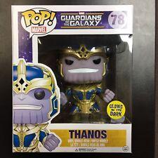 Funko POP Marvel Guardians of the Galaxy Thanos GITD Glows in the Dark