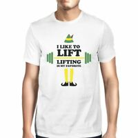 I Like To Lift Lifting Is My Favorite Mens White Shirt